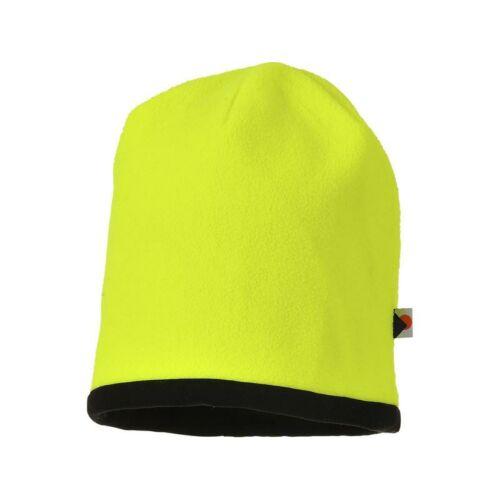 HA14 - Kifordítható HiVis sapka - Sárga