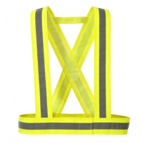 HV55 - Láthatósági kantár - Sárga