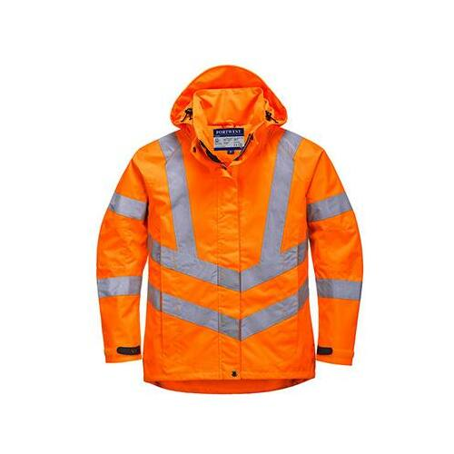 LW70 - Női jól láthatósági lélegző kabát - narancs