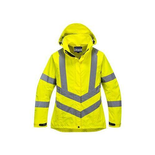 LW70 - Női jól láthatósági lélegző kabát - sárga