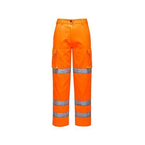 LW71 - Női jól láthatósági nadrág - narancs