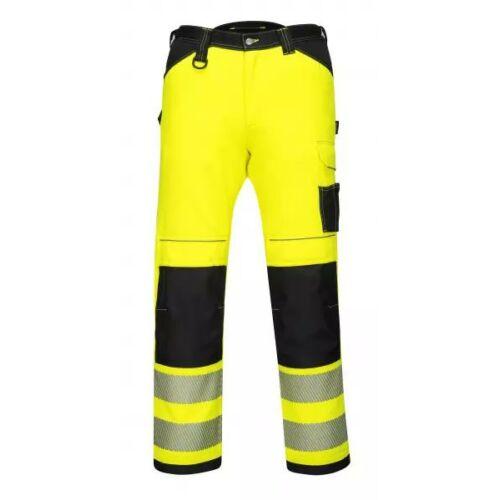 PW340 - PW3 Hi-Vis nadrág - sárga/fekete