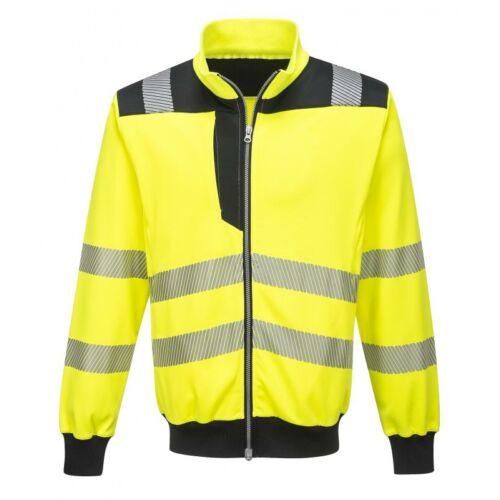 PW370 - PW3 Hi-Vis pulóver - sárga/fekete