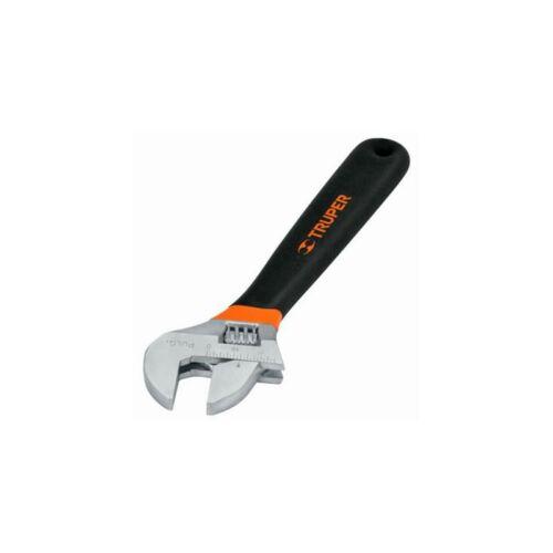 Truper állítható villáskulcs, 254mm, 31,7mm széles pof, profi